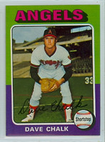 1975 Topps Baseball 64 Dave Chalk California Angels Near-Mint to Mint
