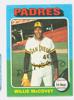 1975 Topps Baseball 450 Willie McCovey San Diego Padres Excellent to Mint