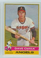 1976 Topps Baseball 52 Dave Chalk California Angels Near-Mint to Mint