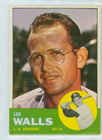 1963 Topps Baseball 11 Lee Walls Los Angeles Dodgers Near-Mint