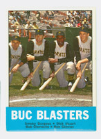 1963 Topps Baseball 18 Buc Blasters Pittsburgh Pirates Excellent to Mint