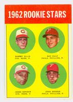 1963 Topps Baseball 29 Rookie Stars 1962  Excellent