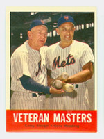 1963 Topps Baseball 43 Veteran Masters New York Mets Excellent to Excellent Plus