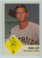 1963 Fleer Baseball 14 Frank Lary Kansas City Athletics Excellent to Excellent Plus