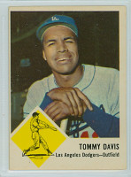 1963 Fleer Baseball 40 Tommy Davis Los Angeles Dodgers Very Good to Excellent