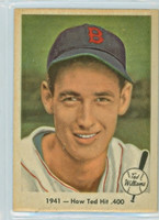 1959 Fleer Ted Williams 17 How Ted Hit .400 Near-Mint Plus