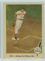 1959 Fleer Ted Williams 30 Beating The Shift Excellent to Mint