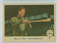 1959 Fleer Ted Williams 51 Patched Up Near-Mint Plus