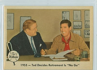 1959 Fleer Ted Williams 55 Retirement - 'No Go' Near-Mint Plus