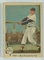 1959 Fleer Ted Williams 60 More Records For Ted Near-Mint to Mint