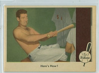 1959 Fleer Ted Williams 74 Here's How Near-Mint Plus