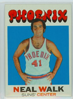 1971 Topps Basketball 9 Neal Walk Pheonix Suns Excellent to Mint