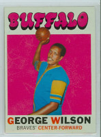 1971 Topps Basketball 26 George Wilson Buffalo Braves Excellent to Mint