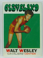 1971 Topps Basketball 52 Walt Wesley Cleveland Cavaliers Excellent to Mint