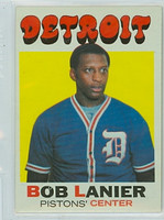1971 Topps Basketball 63 Bob Lanier ROOKIE Detroit Pistons Excellent to Mint
