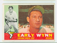 1960 Topps Baseball 1 Early Wynn Chicago White Sox Fair to Good