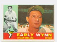 1960 Topps Baseball 1 Early Wynn Chicago White Sox Excellent