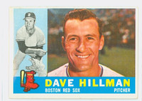 1960 Topps Baseball 68 Dave Hillman Boston Red Sox Excellent to Excellent Plus