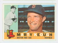 1960 Topps Baseball 71 Marty Keough Boston Red Sox Excellent
