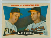 1960 Topps Baseball 115 Fork and Knuckler Excellent to Mint