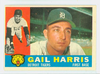 1960 Topps Baseball 152 Gail Harris Detroit Tigers Excellent to Excellent Plus