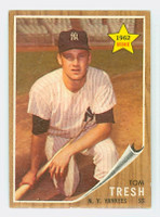 1962 Topps Baseball 31 Tom Tresh ROOKIE New York Yankees Very Good to Excellent