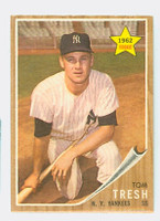 1962 Topps Baseball 31 Tom Tresh ROOKIE New York Yankees Excellent to Mint