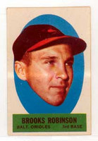 1963 Topps Peel-offs 34 Brooks Robinson Baltimore Orioles Near-Mint