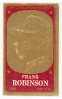 1965 Topps Embossed 22 Frank Robinson Cincinnati Reds Excellent to Mint