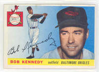 1955 Topps Baseball 48 Bob Kennedy Baltimore Orioles Excellent to Excellent Plus