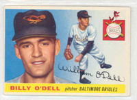 1955 Topps Baseball 57 Billy O' Dell Baltimore Orioles Excellent to Excellent Plus