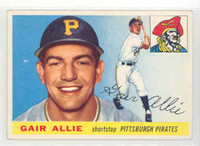 1955 Topps Baseball 59 Gair Allie Pittsburgh Pirates Excellent
