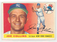 1955 Topps Baseball 63 Joe Collins New York Yankees Excellent