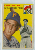 1954 Topps Baseball 11 Paul Smith Pittsburgh Pirates Very Good to Excellent
