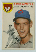1954 Topps Baseball 31 Johnny Klippstein Chicago Cubs Good to Very Good