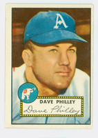 1952 Topps Baseball 226 Dave Philley Philadelphia Athletics Good to Very Good