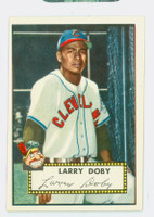 1952 Topps Baseball 243 Larry Doby Cleveland Indians Very Good to Excellent