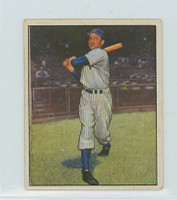 1950 Bowman Baseball 10 Tommy Henrich New York Yankees Very Good to Excellent