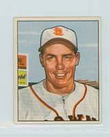 1950 Bowman Baseball 250 Ray Coleman St. Louis Browns Excellent to Excellent Plus