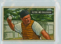 1951 Bowman Baseball 94 Clyde McCullough Pittsburgh Pirates Very Good to Excellent