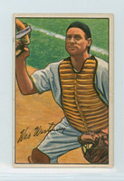 1952 Bowman Baseball 74 Wes Westrum New York Giants Very Good to Excellent