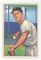 1952 Bowman Baseball 207 George Strickland Pittsburgh Pirates Excellent