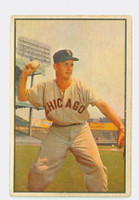 1953 Bowman Color Baseball 18 Nellie Fox Chicago White Sox Good to Very Good