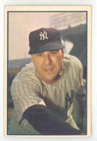 1953 Bowman Color Baseball 27 Vic Raschi New York Yankees Very Good to Excellent
