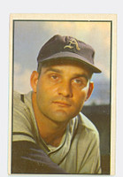 1953 Bowman Color Baseball 38 Harry Byrd Philadelphia Athletics Very Good to Excellent