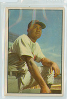 1953 Bowman Color Baseball 40 Larry Doby Cleveland Indians Very Good