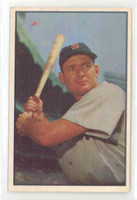 1953 Bowman Color Baseball 61 George Kell Boston Red Sox Excellent to Excellent Plus