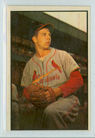 1953 Bowman Color Baseball 115 Cloyd Boyer Tough Series St. Louis Cardinals Very Good to Excellent