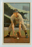 1953 Bowman Color Baseball 125 Fred Hatfield Tough Series Detroit Tigers Very Good to Excellent