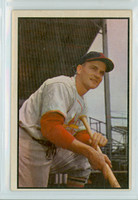 1953 Bowman Color Baseball 142 Larry Miggins High Number Boston Red Sox Very Good to Excellent